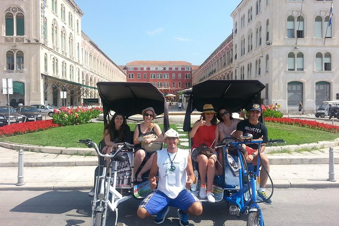 Personal tour !!! Guided Tour !!! Highlights of Split by Rickshaw