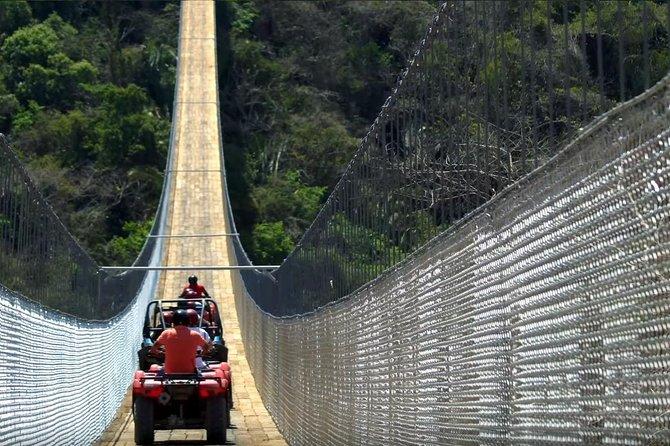 Jorullo Bridge single ATV: $99 USD | Book with $30 USD, the rest at check in!