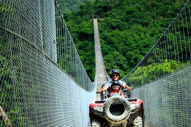 Jorullo Bridge double ATV: $155 USD | Book with $46 USD, the rest at check in!