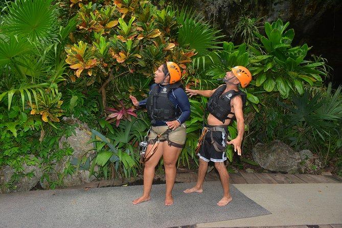 Excursión: Snorkel en Cenote Maya, Zipline, Off Road Ride Truck