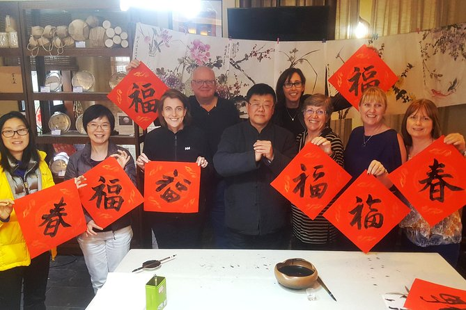 Traditional Calligraphy and Chinese Characters Class in Chengdu