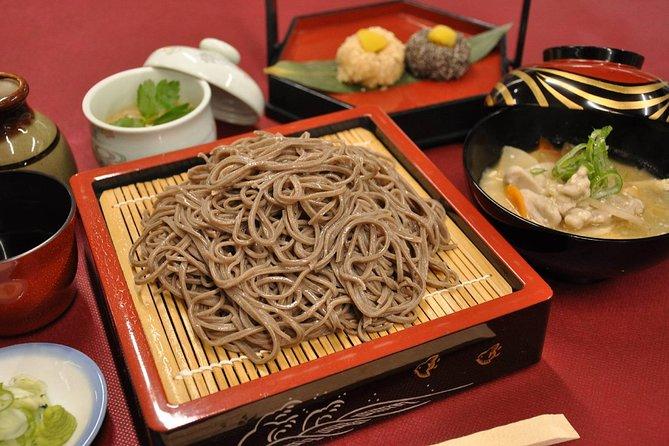 Soba Making Experience in Nagano: UME Plan