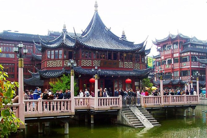 Shanghai Shore Excursion: Privat Helgedags City Sightseeing Tour Inklusive Jade Buddha Temple