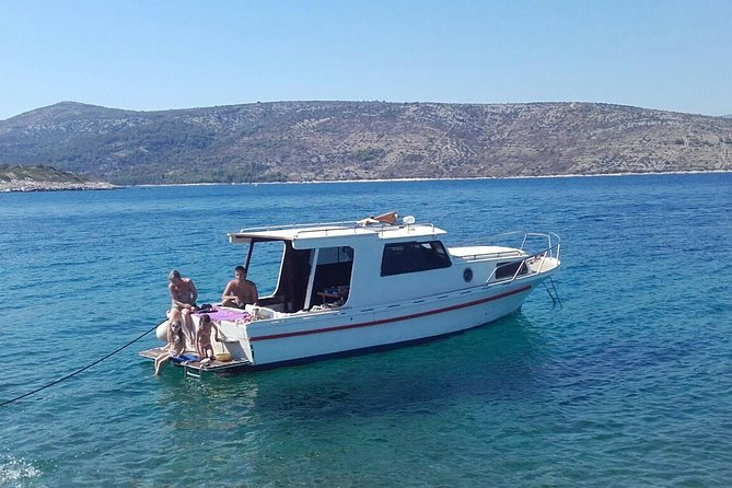 Private Blue Lagoon Cruise on a Traditional Wooden Boat from Trogir