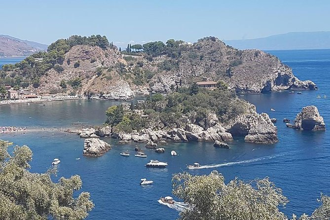 Taormina tour for small groups from Messina