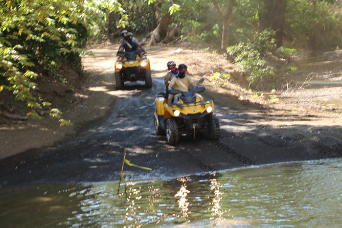 Luxury ATV Tours 3,5h of Pura Vida book 3 ATVs (max 6 pers)