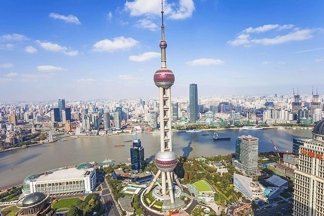 Shanghai Afternoon Sightseeing Tour including Huangpu River Cruise & OTV Tower
