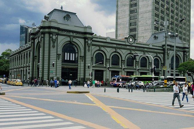Walking tour downtown Medellín
