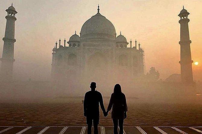 Taj Mahal Sunrise Tour From Jaipur