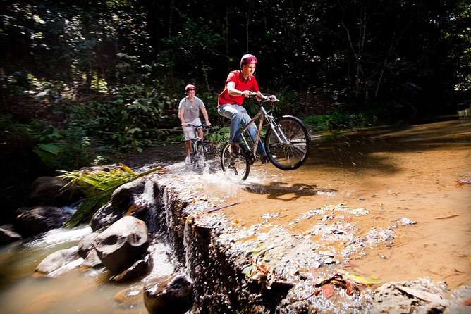 Waterfall Cycling Adventure In St. Lucia From Castries