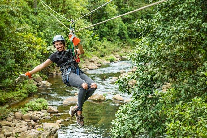 6 in 1 Tour: Rainforest Adventures Costa Rica Braulio Carrillo
