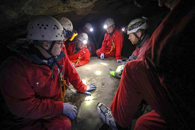 Canmore Caving Adventure Tour photo 3