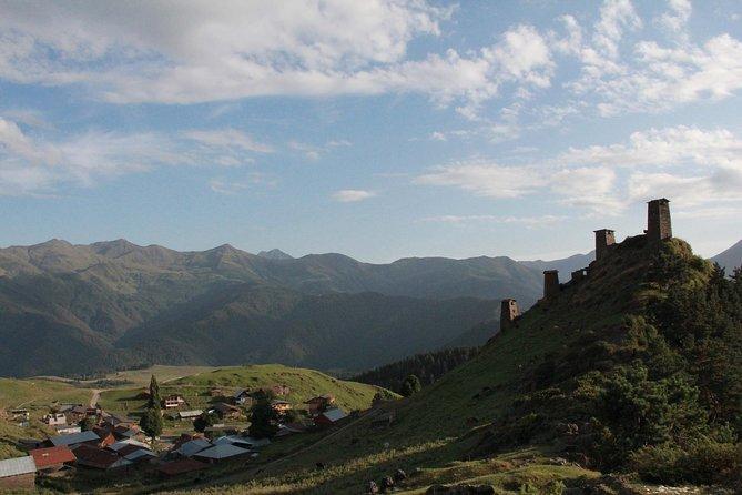 5 days private tour in Remote Tusheti (Omalo) hiking around the area.