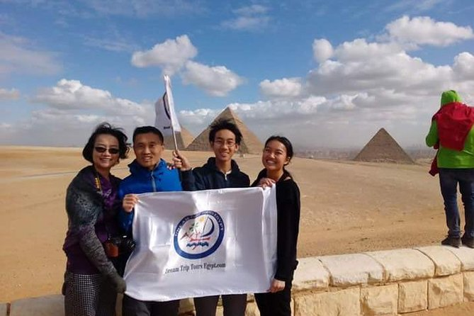 Great Giza Pyramids & Sphinx Day Tour With Camel Ride