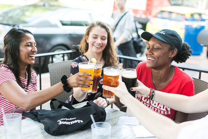 DC: 'New York Times Journeys' Walking Tour with Beer, Cheese and Wine Tasting