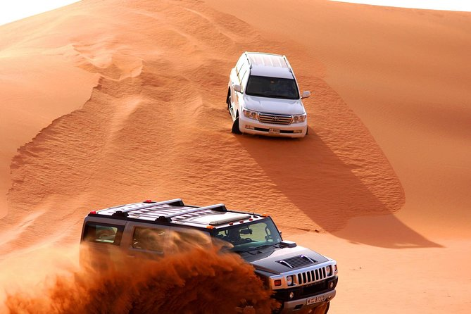 Premium Red Dunes & Camel Safari with BBQ Dinner,3 shows and sandboard
