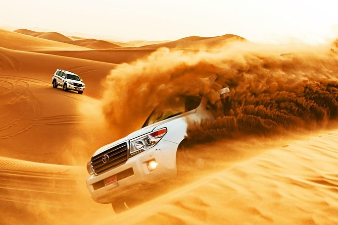 Dubai Morning Safari: Red Dunes, Camel Ride and Sand boarding