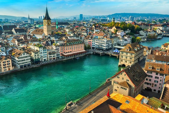 Zurich By Yourself with English Chauffeur - Business Car