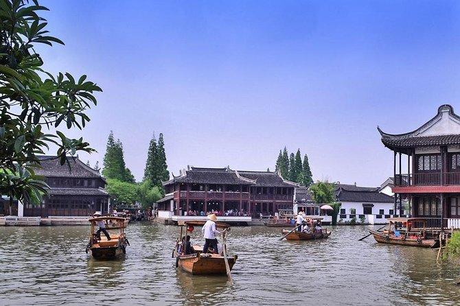 Private Shanghai Day Tour of Zhujiajiao Water Town,Yu Garden and Bund