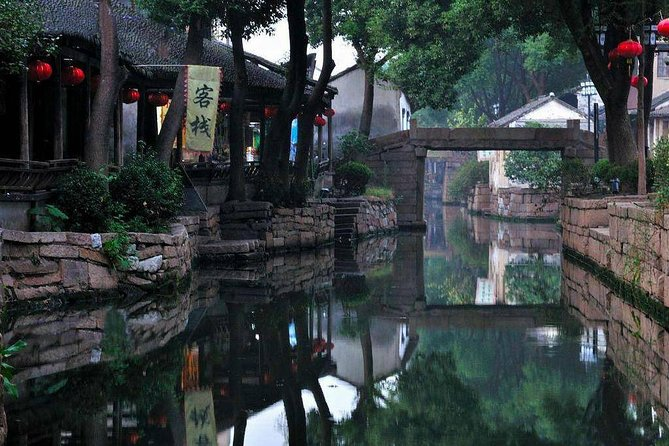 Luzhi Ancient Water Town Private Tour from Suzhou with Lunch