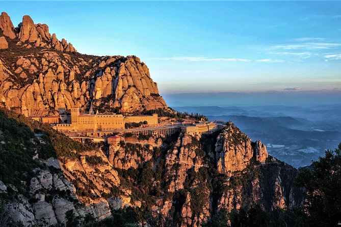 Montserrat and Sitges Easy Hike with Hotel Pickup from Barcelona