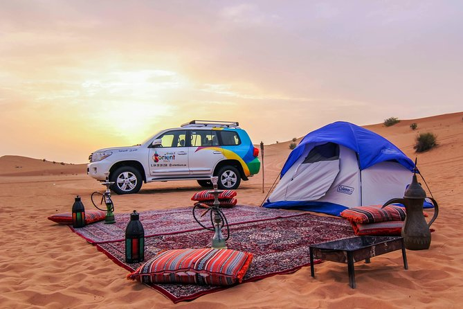 Liwa Desert Overnight Camping Safari from Dubai photo 1