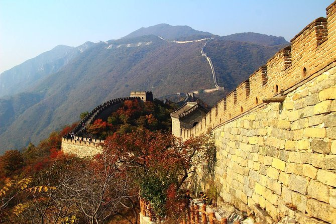 Beijing Private Tour to Mutianyu Great Wall and Lama Temple with Dim Sum Lunch