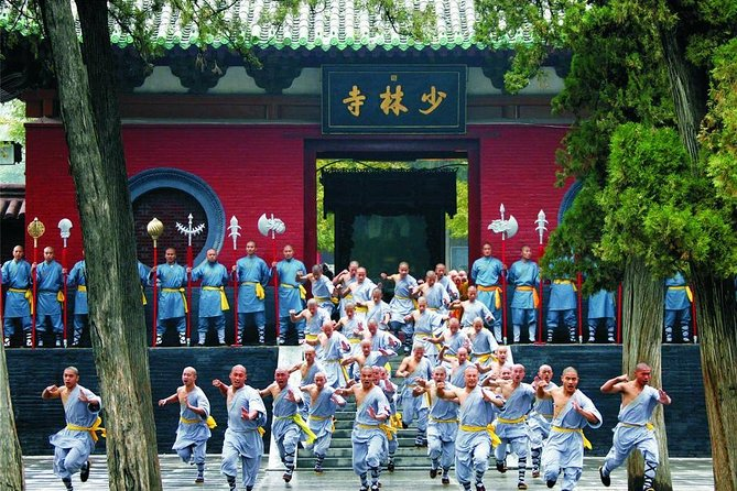 Independent Tour to Shaolin Temple and Longmen Grottoes from Zhengzhou