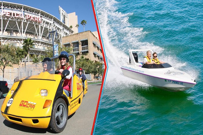 GoCar & Speedboat Land and Sea Adventure