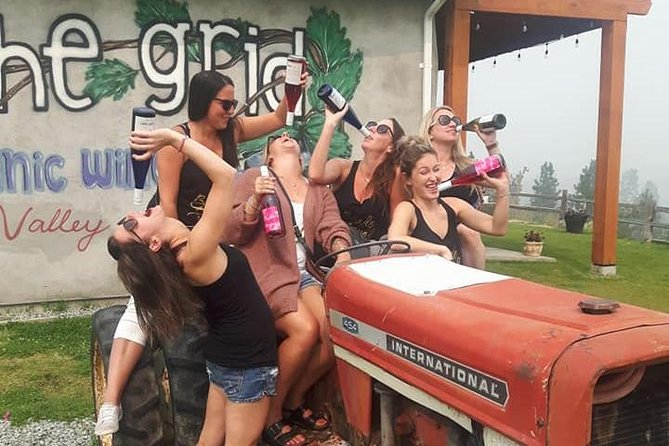 Kelowna & West Kelowna Bachelorette Wine Tour
