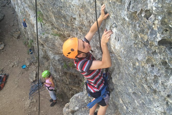 Guided Outdoor Climbing