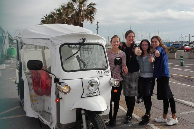 Tuk Tuk Valencia - Complete Tour (Center - Arts - Marina - Beach)