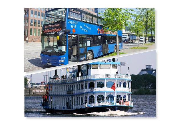 Hop-on Hop-off Tour : combined City Tour by Bus and Boat