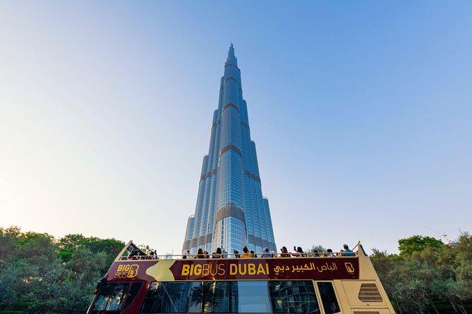 Big Bus Dubai and Abu Dhabi Twin City Ticket: Hop-On Hop-Off Tours