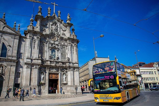 Porto Hop-On Hop-Off Tour with Optional River Cruise and Wine Tasting