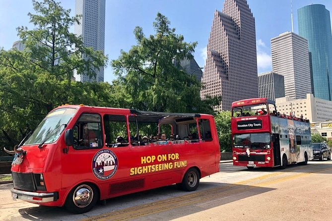 Houston's Official Hop on-Hop off Tour