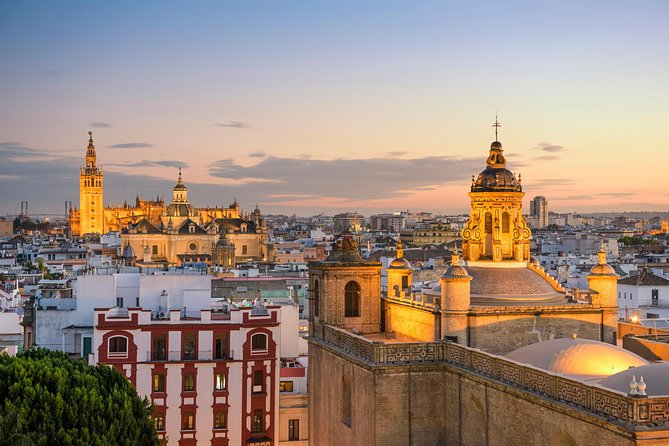 Cadiz to Seville Shore Excursion with Skip the Line Alcazar, Pickup & Dropoff