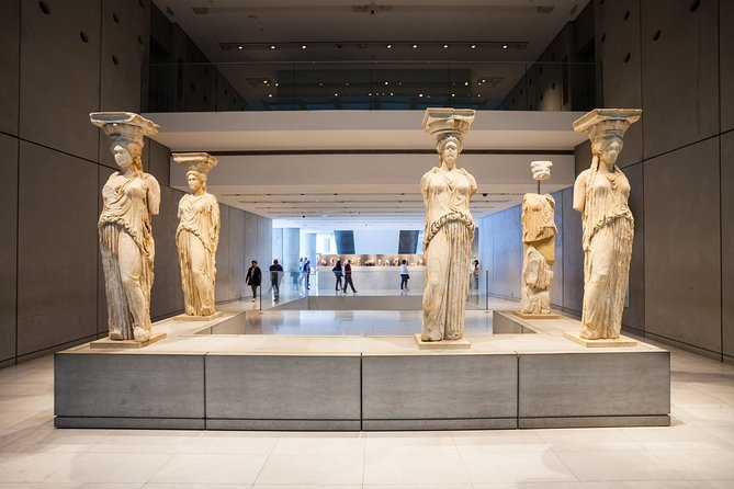 Acropolis Museum: Pre-booked e-Ticket and Audio Tour on Your Phone