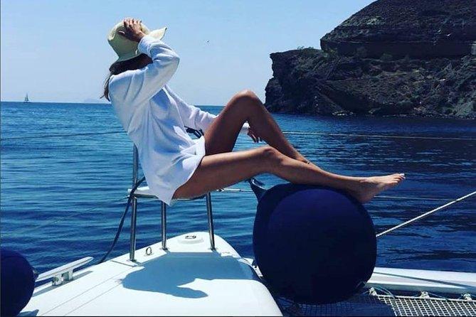 Santorini Private Catamaran Cruise