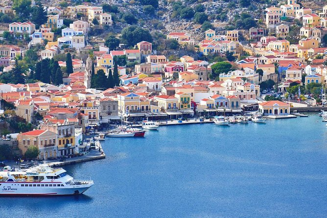 Symi & Panormitis full day cruise from Rhodes !!