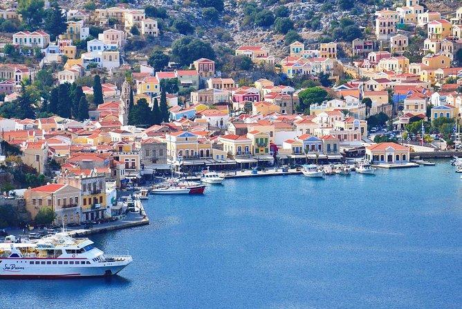 Symi Island & Panormiti, day cruise from Rhodes. High Speed Catamaran (60 min)