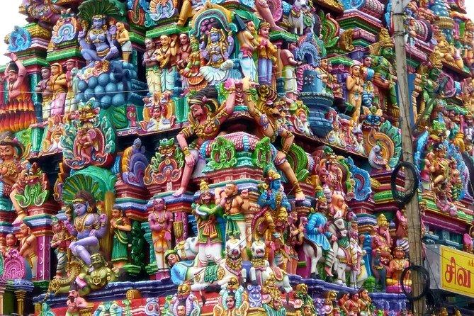 Historic Temples Tour in Pondicherry