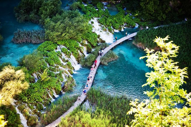Private Tour of Plitvice Lakes from Bled