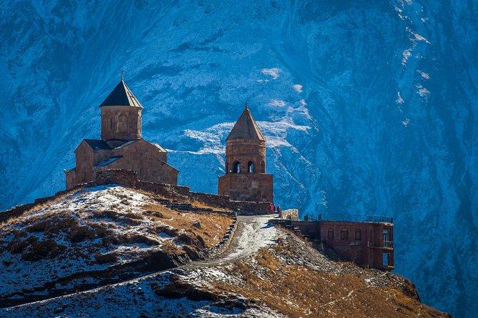 Mtskheta Jvari Ananuri Gudauri and Kazbegi Full Day Tour from Tbilisi