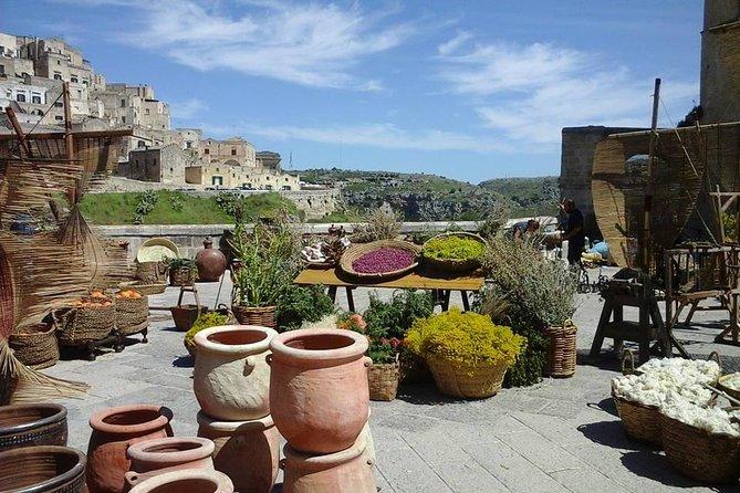 UNESCO Matera from Bari port or accomodation