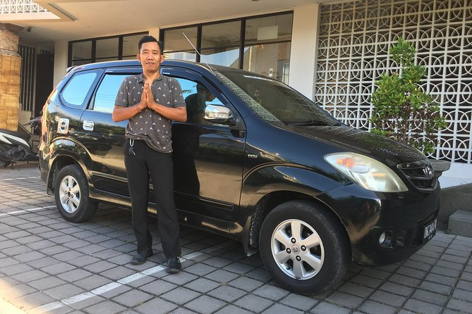 Private Bali Car Charter with Driver up to 6 People