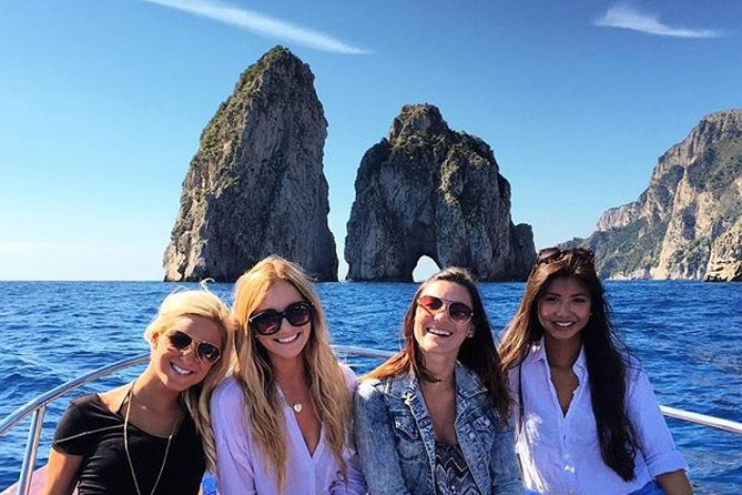 Swim and sun, relax and fun! 3hour group tour of Capri island