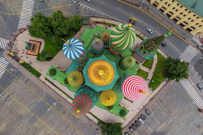 Moscow city center tour with private guide and virtual flight