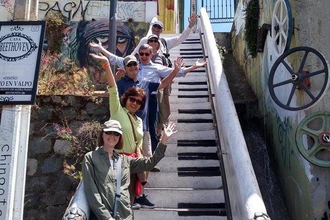 Valpo em 1 dia: Autêntico + Famoso! Excursão a pé semi-privada e transporte público