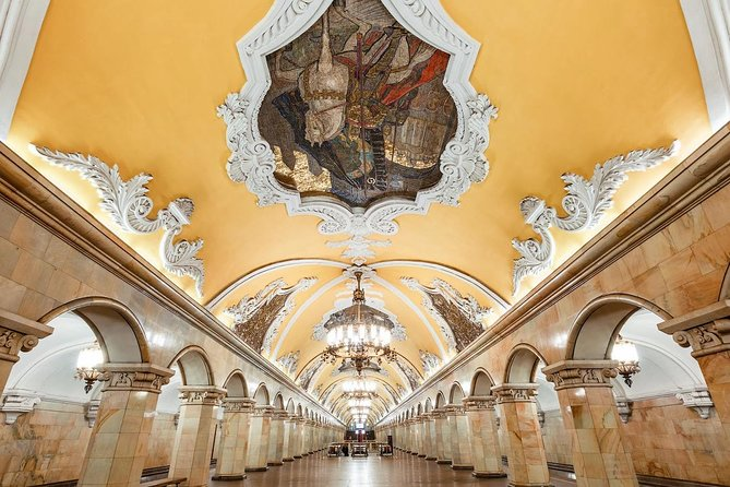 Moscow metro tour with private local guide